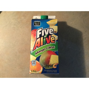 Five alive mango citrus