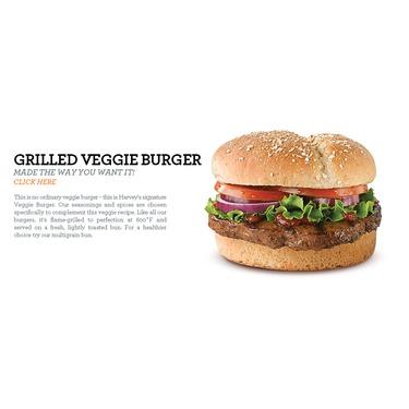 Harvey's veggie burger