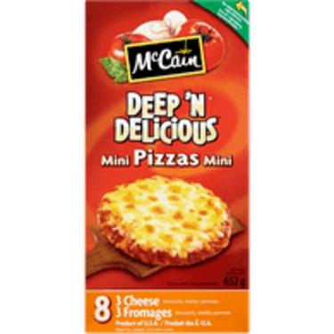 McCain - Deep and Delicious Mini Pizzas