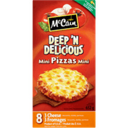 McCain - Deep and Delicious Mini Pizzas