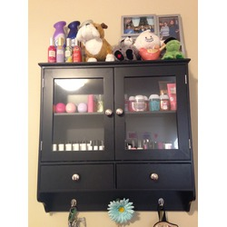 Black Cabinet and Drawers
