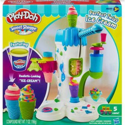 Play doh sweet shoppe perfect twist ice cream