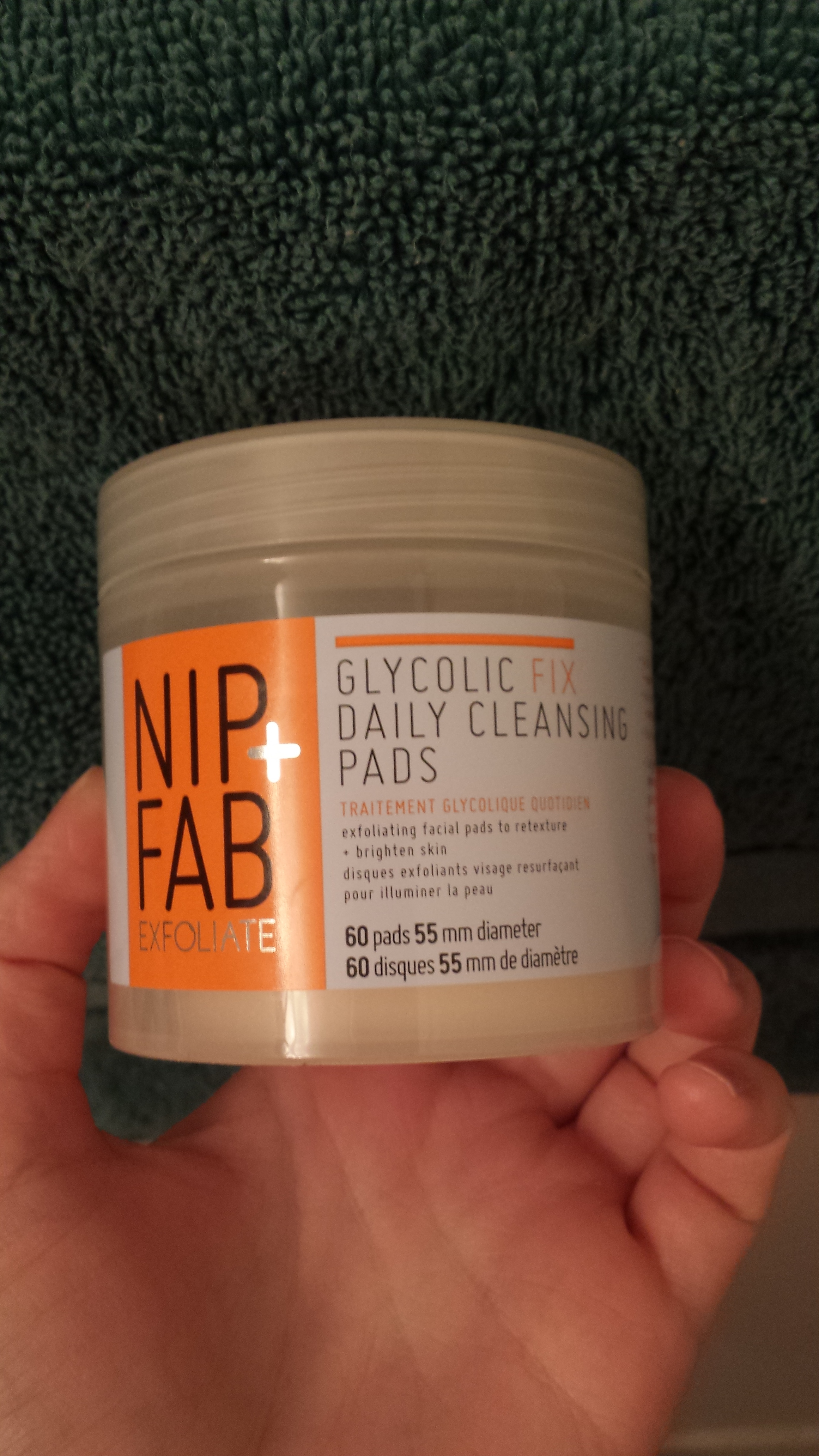 how to use nip and fab glycolic fix pads night