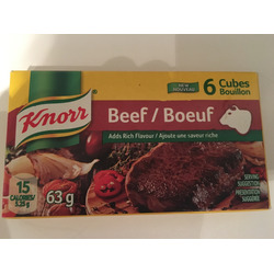 Knorr® Beef Boullion Cubes
