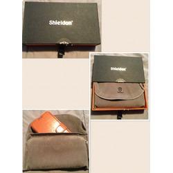 Shieldon genuine leather wallet case Galaxy s7 flip case