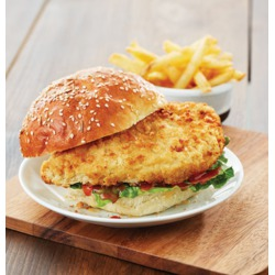 M&M;Crispy Breaded Chicken Breasts