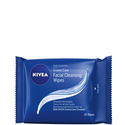NIVEA Creme Care Facial Cleansing Wipes
