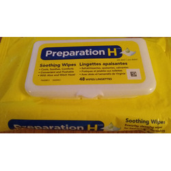 Preperation H Wipes