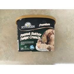 Scotsburn premium peanut butter fudge crunch