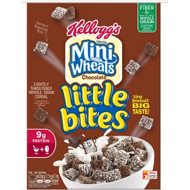 Kellogg's Frosted Mini Wheats Little Bites Chocolate
