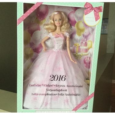 Barbie 2016 birthday wishes