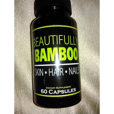 Beautifully Bamboo Hair Skin Nails Capsules