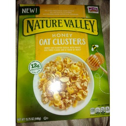 Nature valley honey oat clusters