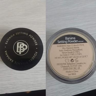 BellaPierre Cosmetics Banana Setting Powder