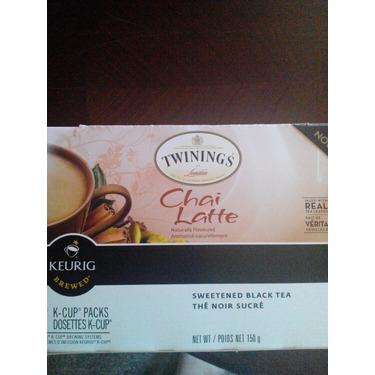 Twinnings chai latte k cups