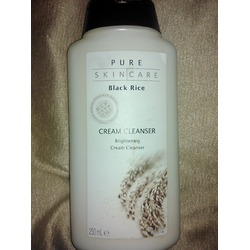 Pure Skin Care Black Rice Brightening Cream Cleanser