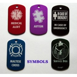 Autism Medical Alert Id Tag.