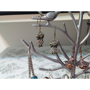 EchoAcc Jewellery Display/Stand - Bird on tree