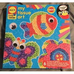 Alex toys early learning tissue paper art
