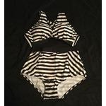 Haicoo High Waisted Zebra Bikini
