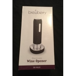 brewberry electric wine opener