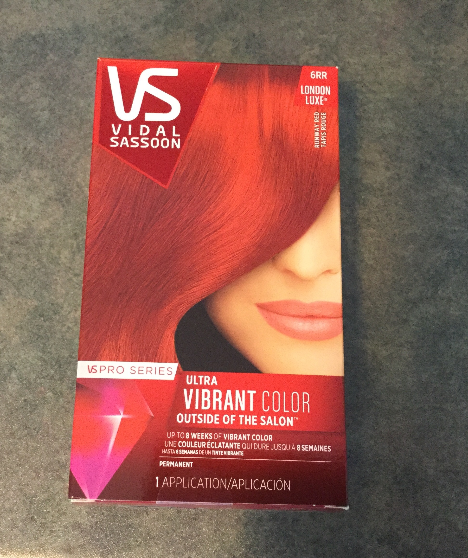 Vidal Sassoon Ultra Vibrant Color Runway Red Reviews In Hair Colour
