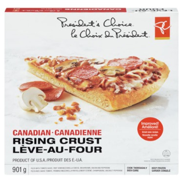 President's Choice Rising Crust Canadian Pizza