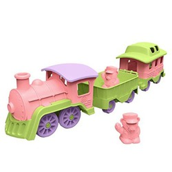 Green Toys Train Pink/Green