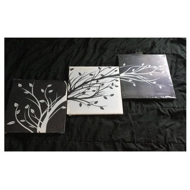Wieco art black and white canvas prints