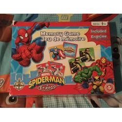Marvel spider-man & friends memory game