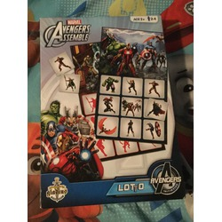 Marvel avengers assemble lotto game