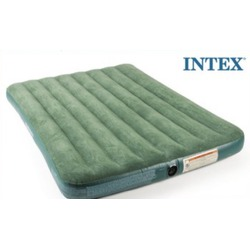 Intex full classic downy air bed with manual pump