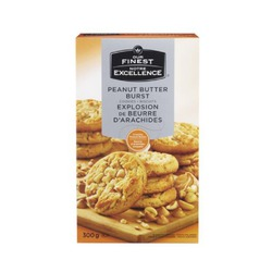 Our finest peanut butter burst cookies