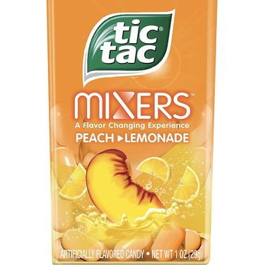 Tic Tac Mixers Peach Lemonade