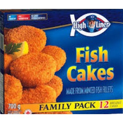 High liner fish cakes