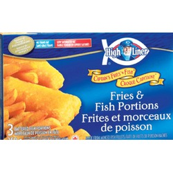High liner captains fries & fish