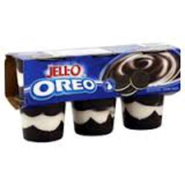 Jello Pudding Cups - Oreo