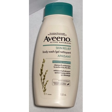 Aveeno Active Naturals Skin Relief Fragrance Free Body Wash
