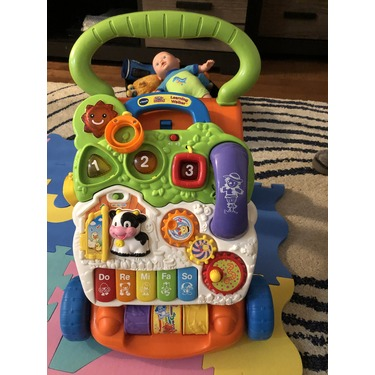 VTech Sit-to-Stand Learning Walker-Frustration Free Packaging