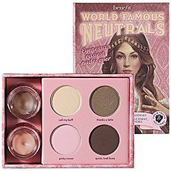 BeneFit Cosmetics World Famous Neutrals - Easiest Nudes Ever
