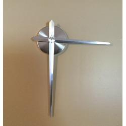 Wawoo Stainless Steel Wall Clock