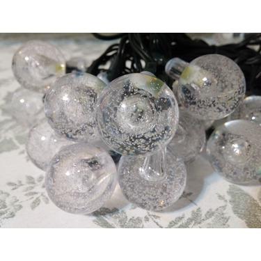 Vansky 20ft 30 LED Crystal Ball Solar Garden Lights
