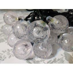 Vansky 20ft 30 LED Crystal Ball Solar Garden Lights