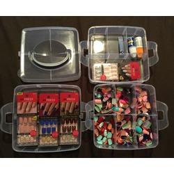 Pills Jewelry Beads Nail Art Tips Case Holder Storage Organizer