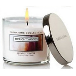 Bath & Body Candle Twilight Woods Scent