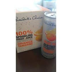 President's Choice 100% sparkling fruit juice