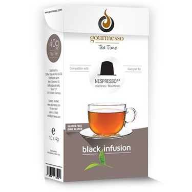 Gourmesso Black Infusion Tea