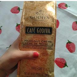 Godiva Hazelnut Creme Coffee