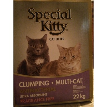 Special Kitty Clumping Cat Litter