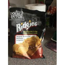 Double Dutch Ridges Potato Chips